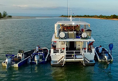 Luxury Weipa Sports Fishing Liveaboard Trips - Call Lee 0431